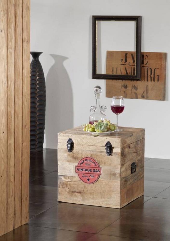Bighome - COLLAGE truhlica #18, liatina a mangové drevo