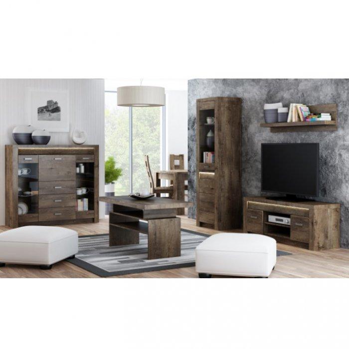 TEMPO KONDELA INFINITY obývacia izba - jaseň tmavý