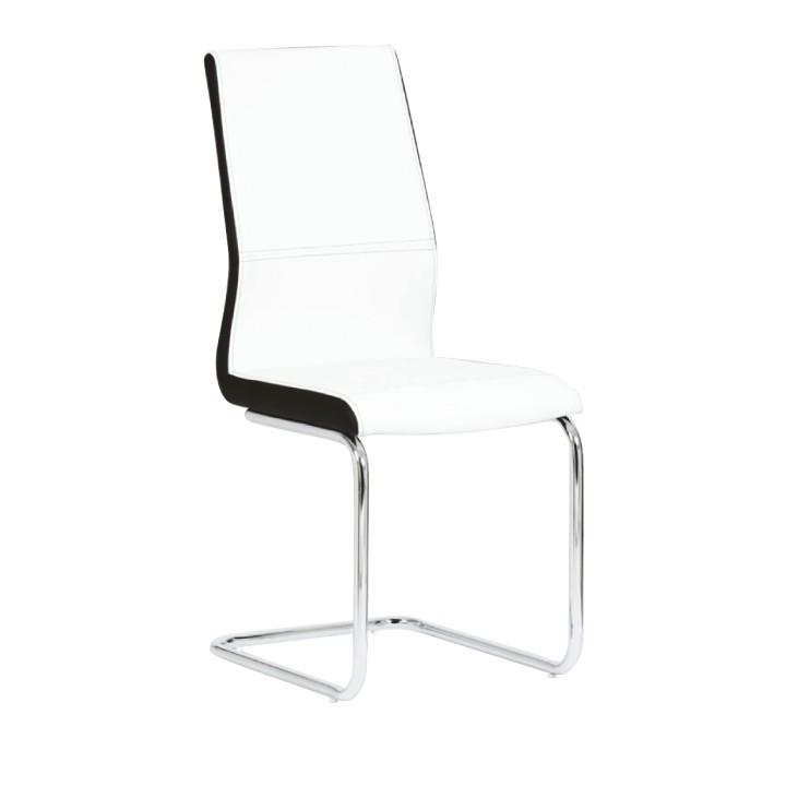 Jedálenská stolička Neana (biela + čierna)