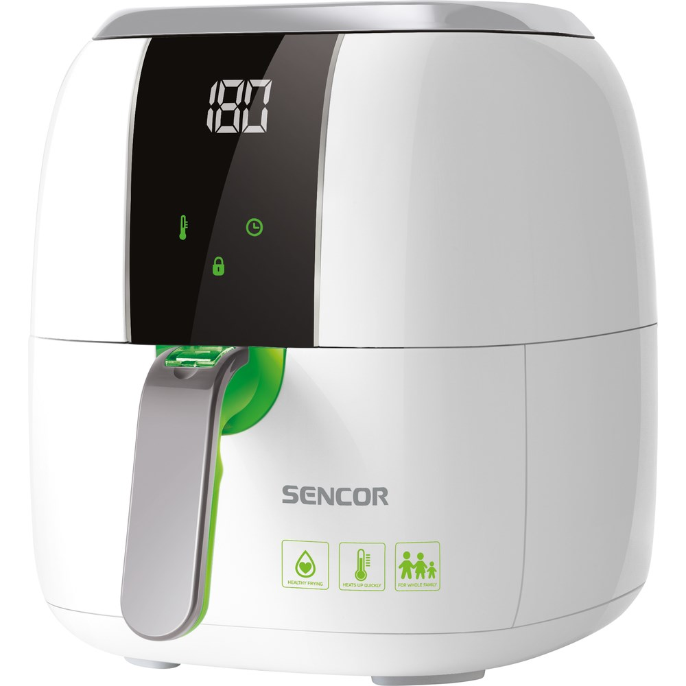 Sencor SFR 5320WH teplovzdušná fritéza LED displej