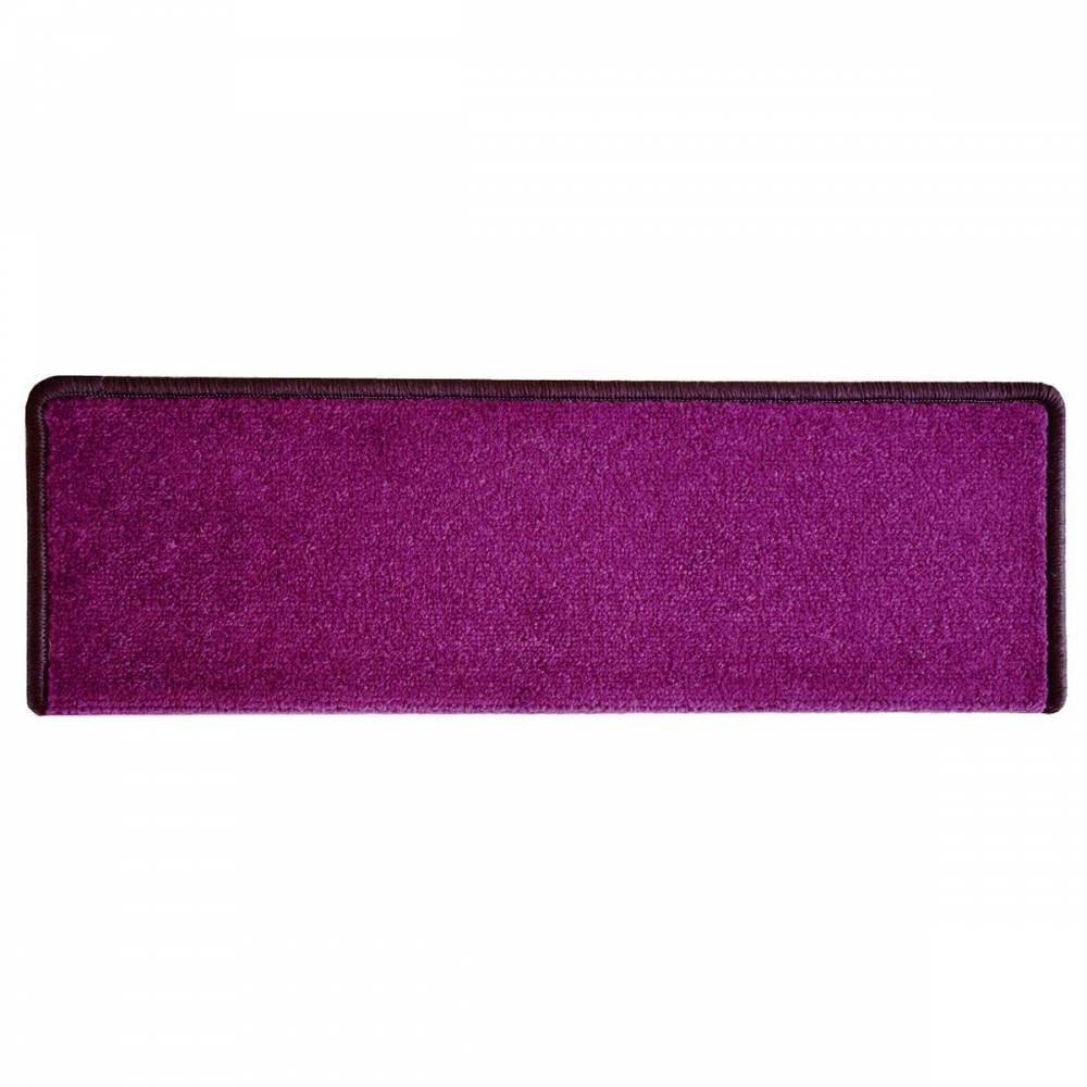 VOPI Nášľap na schody Eton obdĺžnik fialová, 24 x 65 cm