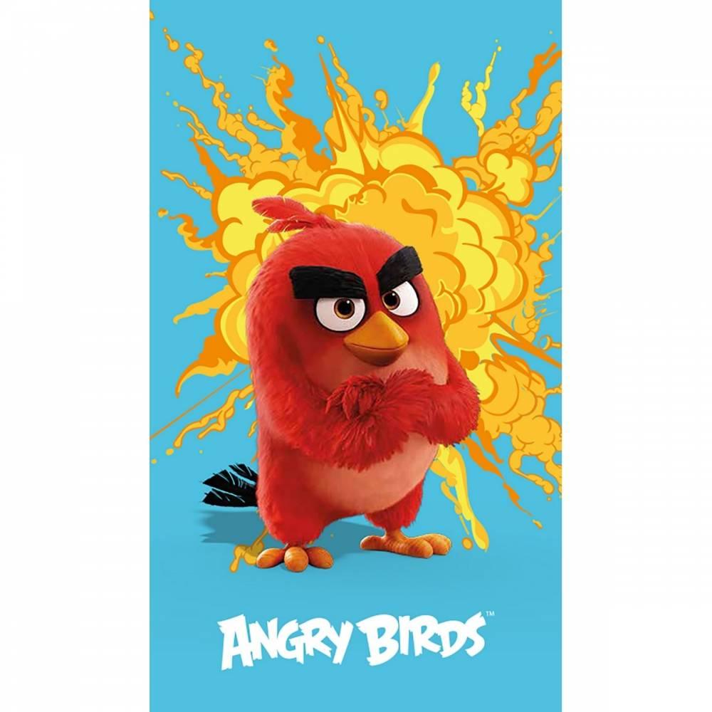 CTI Osuška Angry Birds red, 70 x 120 cm