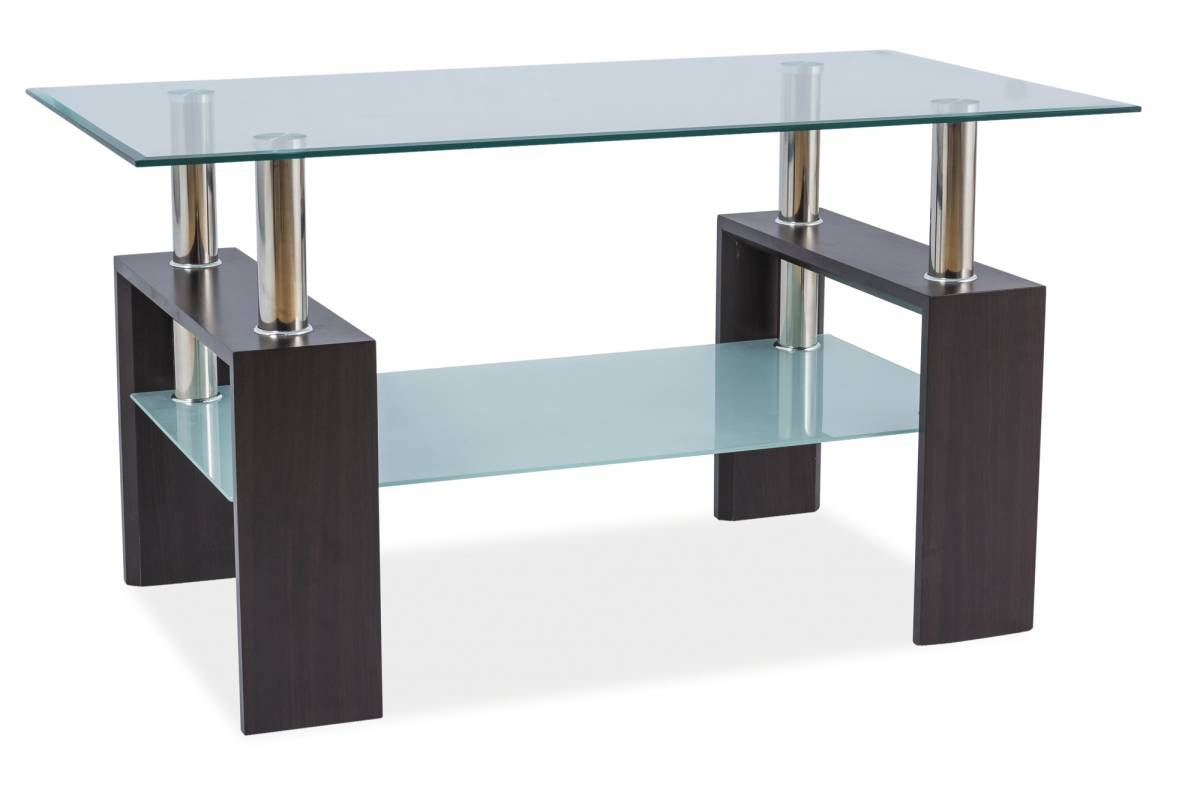 Konferenčný stolík Lisa III (wenge)