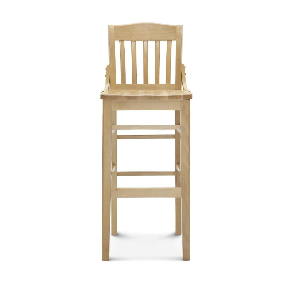 Barová drevená stolička Fameg Hrok