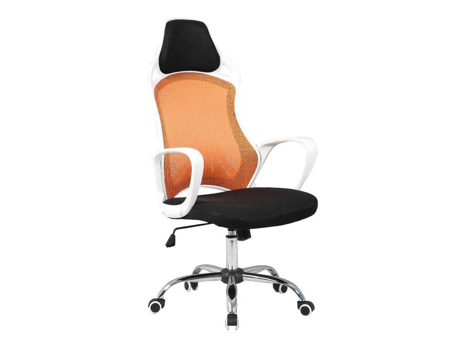 Kancelárske kreslo Ario (oranžová + čierna)