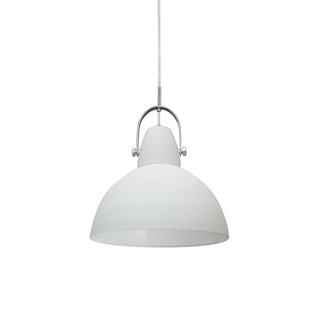 Biele závesné svietidlo Design Twist Mohe