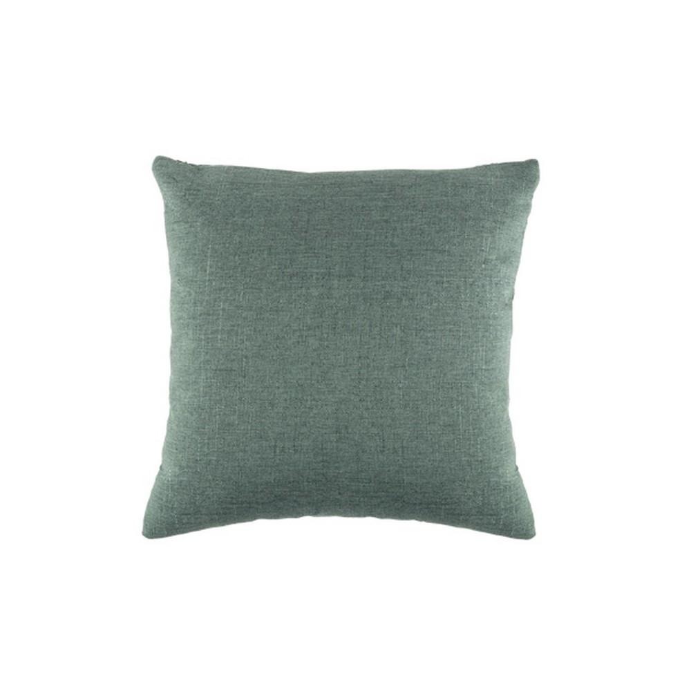 Zelený vankúš White Label Tim, 45 x 45 cm