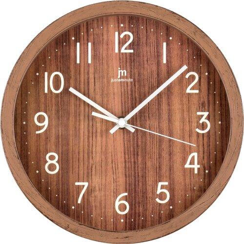 Lowell 00827N Dizajnové nástenné hodiny pr. 25 cm