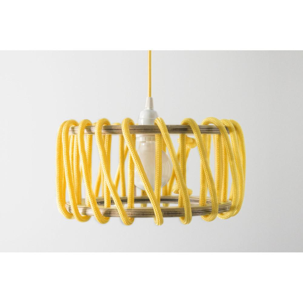 Žlté stropné svietidlo Emko Macaron, 30 cm
