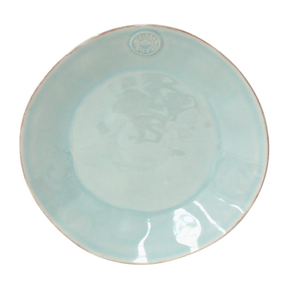 Tyrkysový keramický tanier Ego Dekor Nova, Ø27cm
