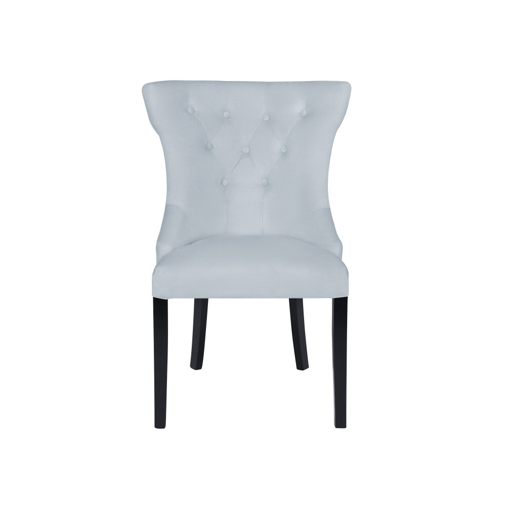 Pastelovomodrá stolička Micadoni Home Mero