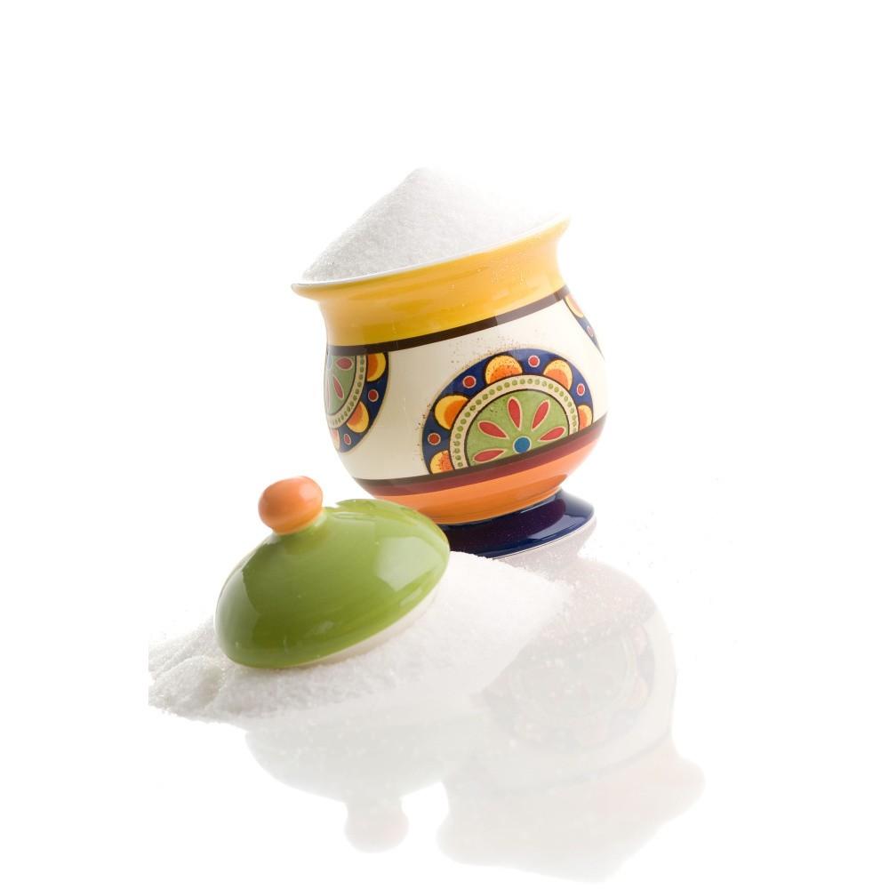 Farebná keramická cukornička Brandani Etno