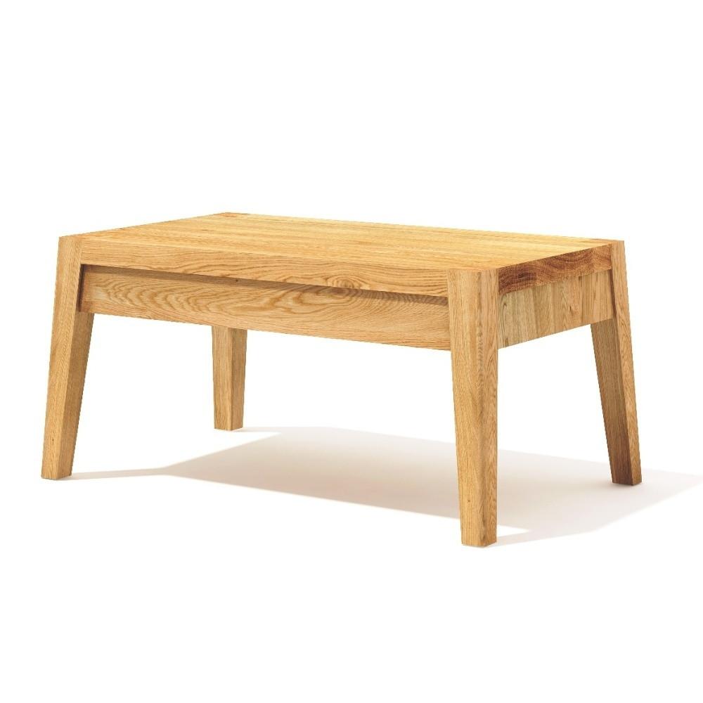 Nočný stolík z masívneho dubového dreva Javorina