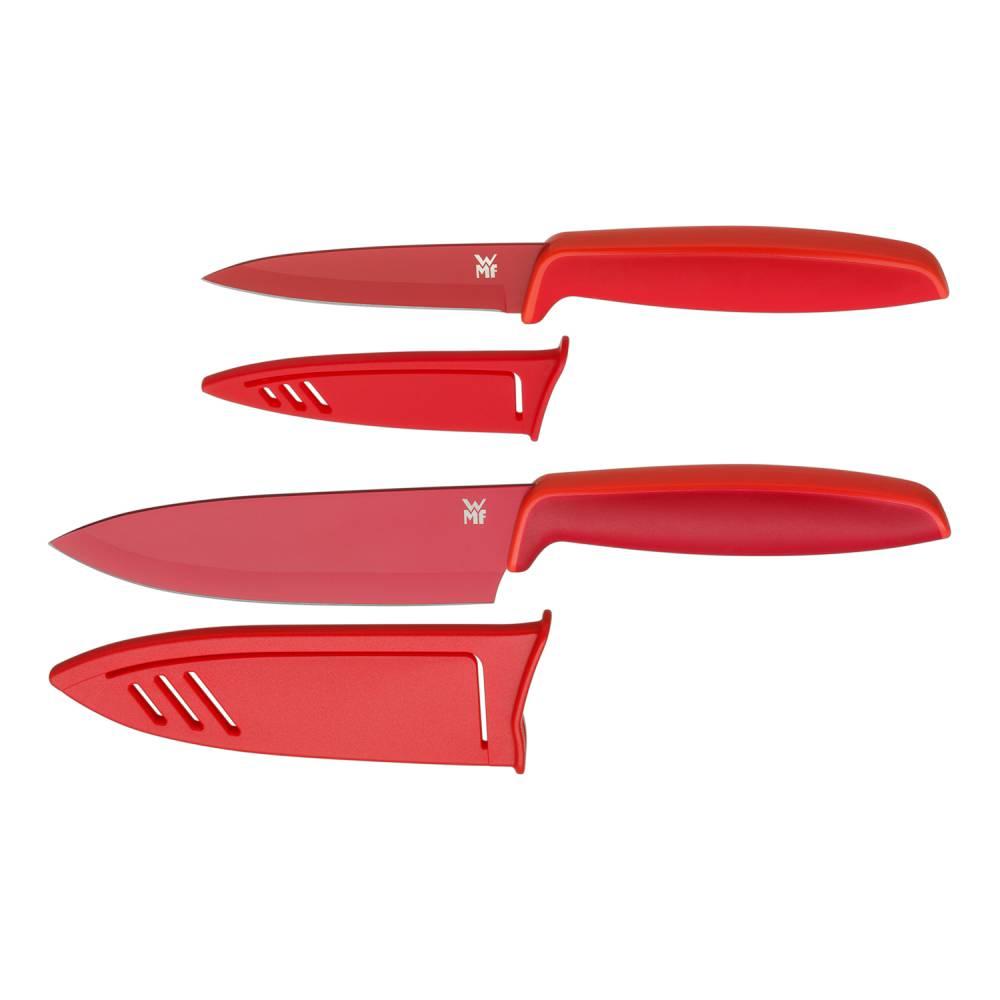 Súprava kuchynských nožov 2-dielna červená Touch