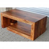 Furniture nábytok  Masívny konferenčný stolík z Palisanderu  Čaran  100x50x45 cm