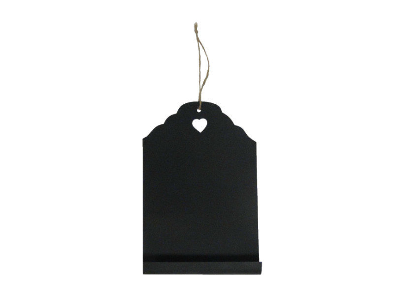 Závesná ceduľka na písanie kriedou Antic Line Blackboard