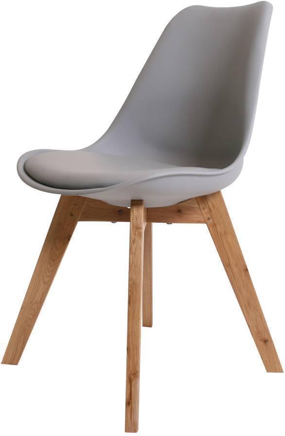 Stolička VOLADO - sivá