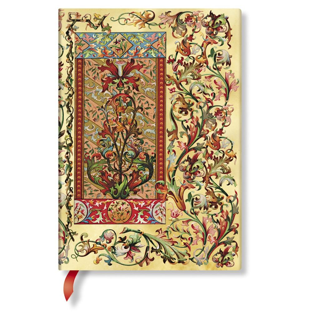 Zápisník s tvrdou väzbou  Paperblanks Tuscan Sun, 13 x 18 cm