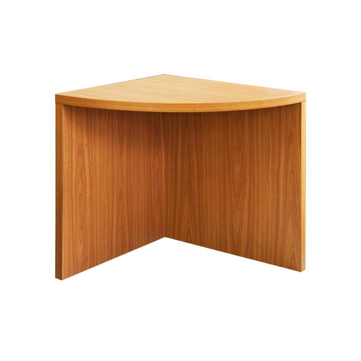 TEMPO KONDELA Rohový oblúkový stôl, čerešňa, OSCAR T05