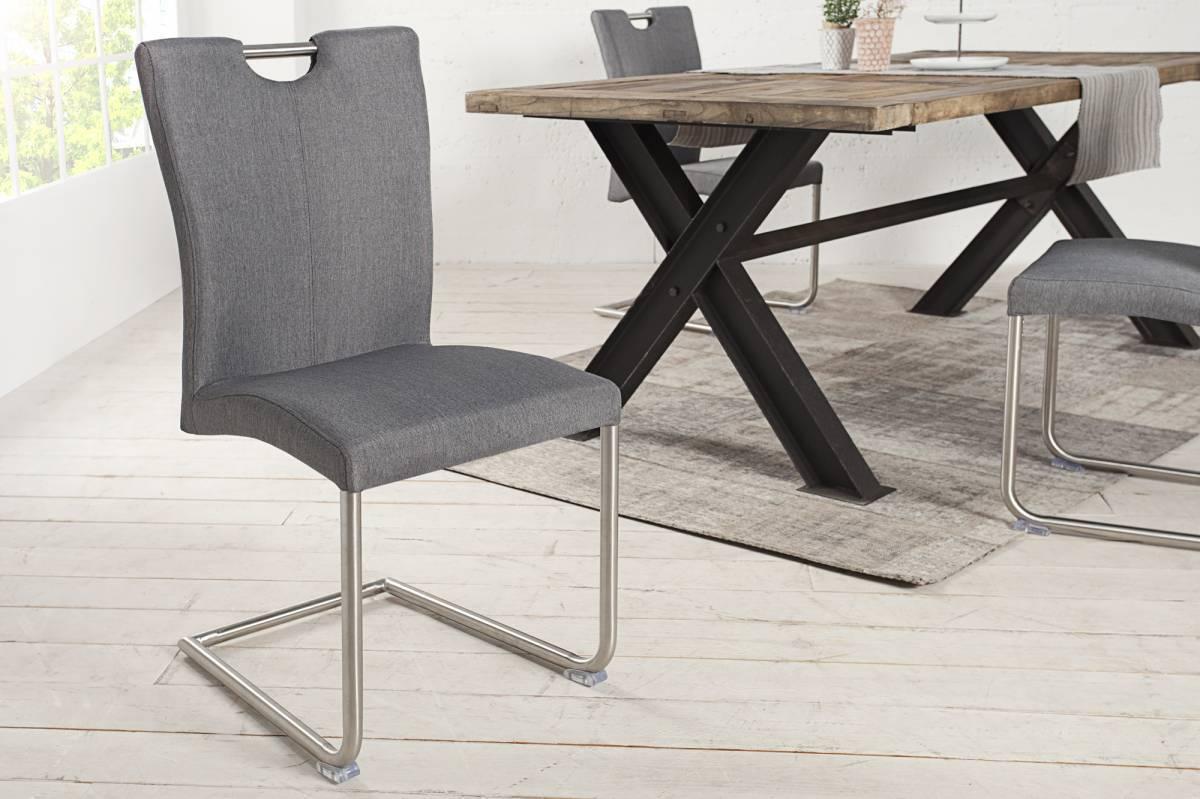 Stolička BOFFALO - sivá