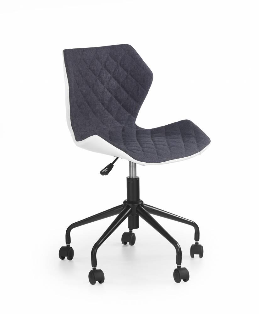 Detská stolička Matrix (sivá + biela)
