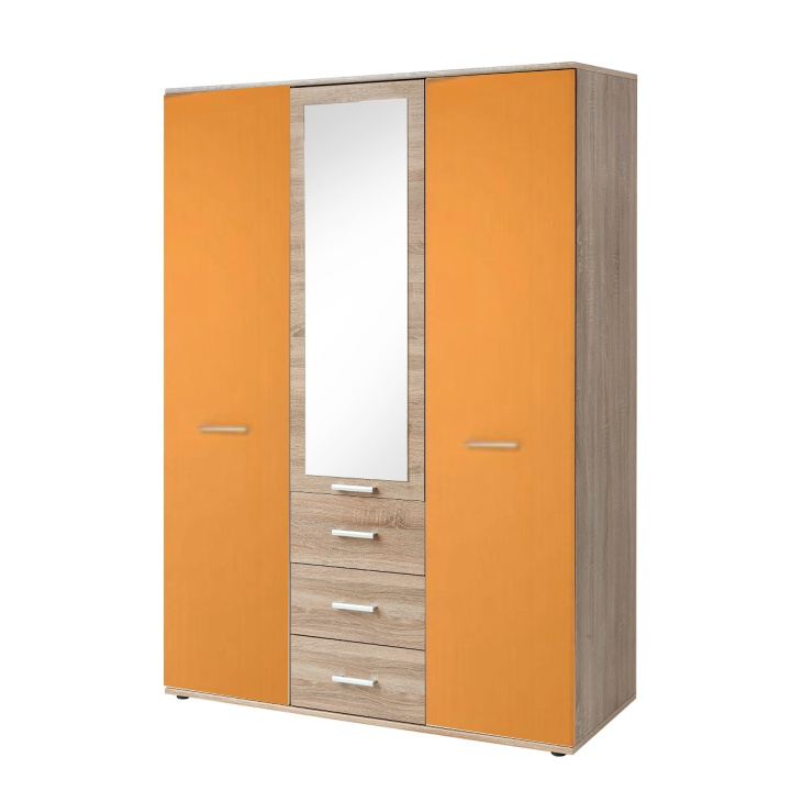 Skriňa EMIO 01   Farba: Oranžová