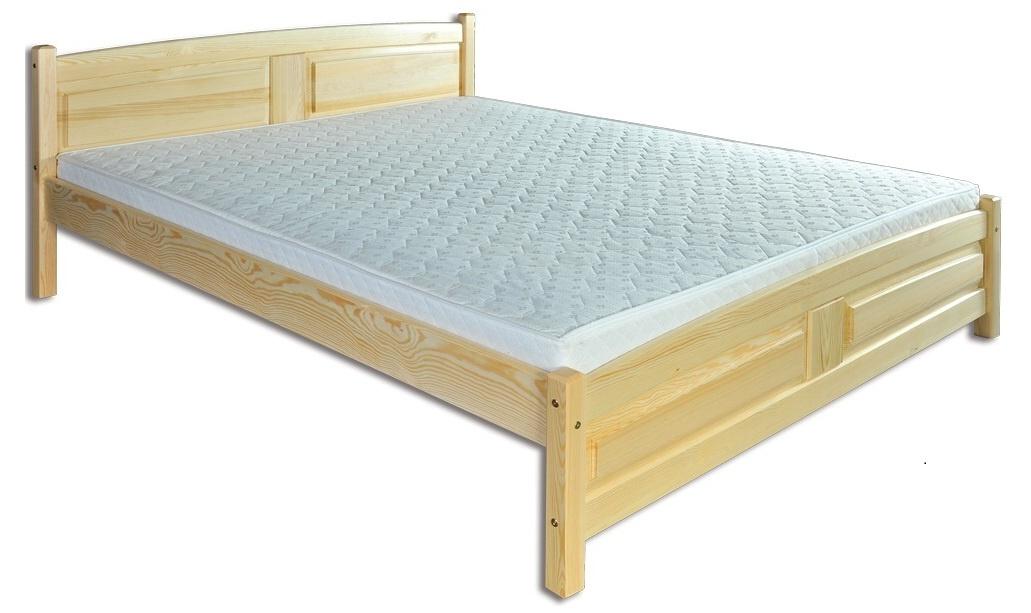 Jednolôžková posteľ 120 cm LK 104 (masív)