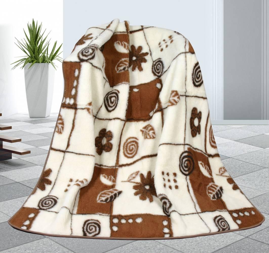 Bellatex vlnená deka Variace, 155 x 200 cm