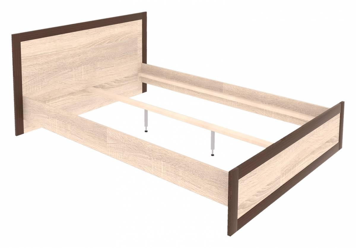 Manželská posteľ 140 cm Boss BS19/140