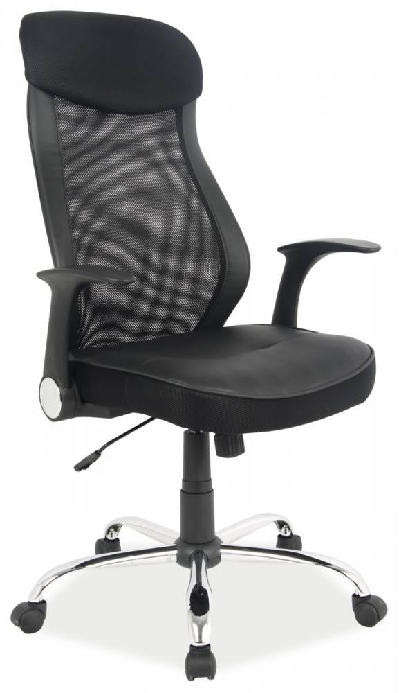 Kancelárske kreslo Q-120 (ekokoža čierna)