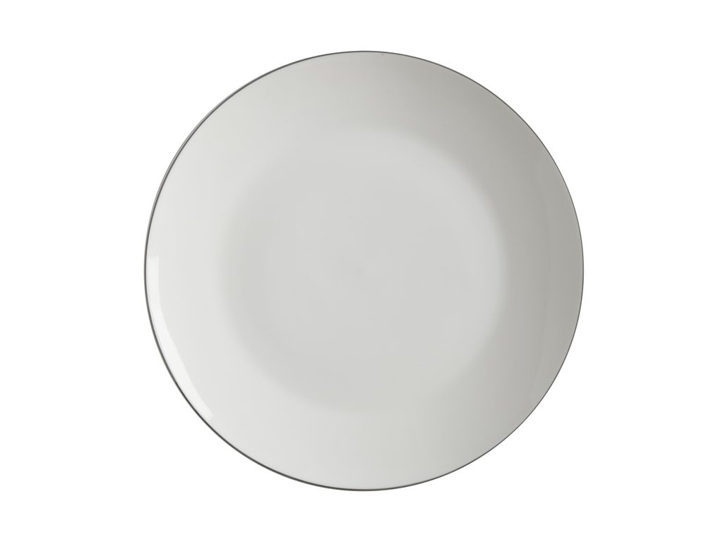 Maxwell & Williams Talíř jídelní WHITE BASICS EDGE 27,5 cm