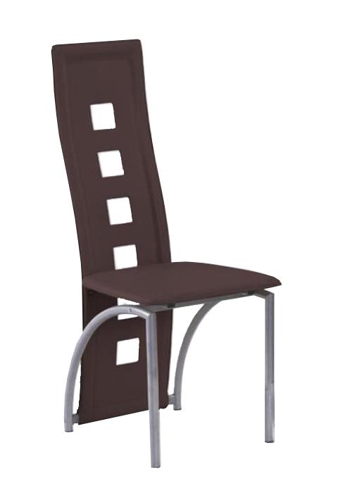 Jedálenská stolička K4 M hnedá