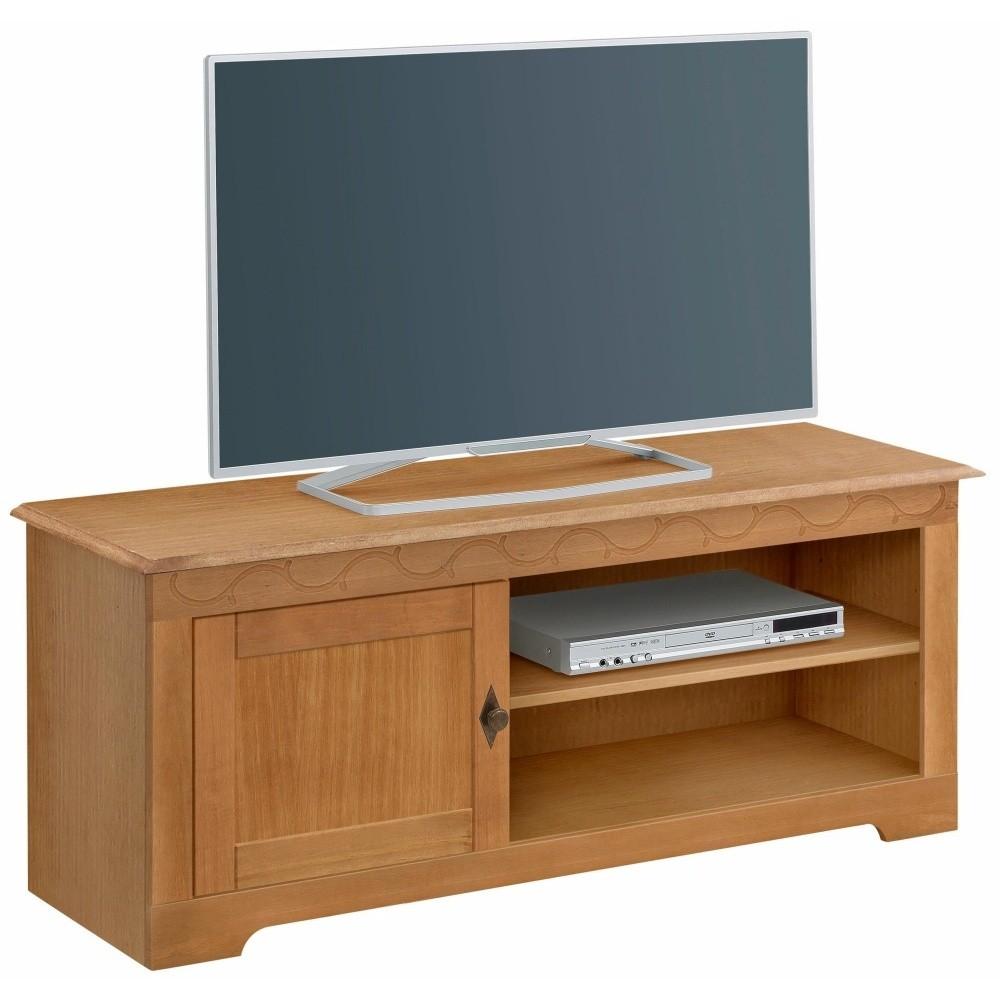 TV stolík z borovicového dreva Støraa Lando Barn