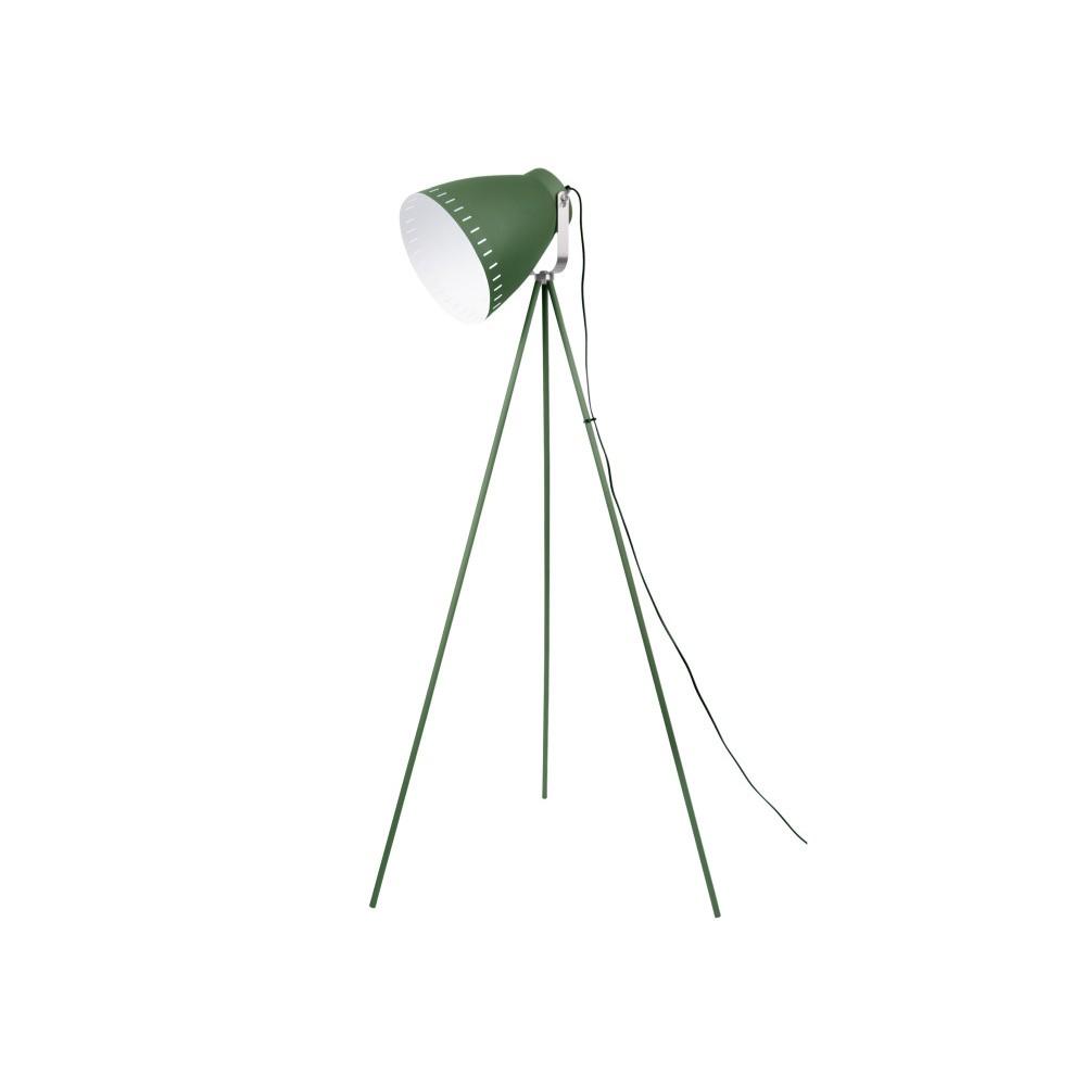 Zelená voľne stojacia lampa Tristar
