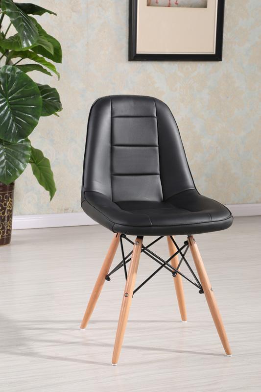 Jedálenská stolička VERI, čierna