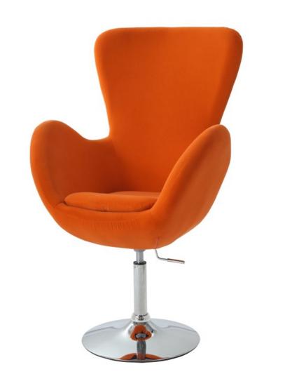 Relaxačné kreslo OLLI / oranžová