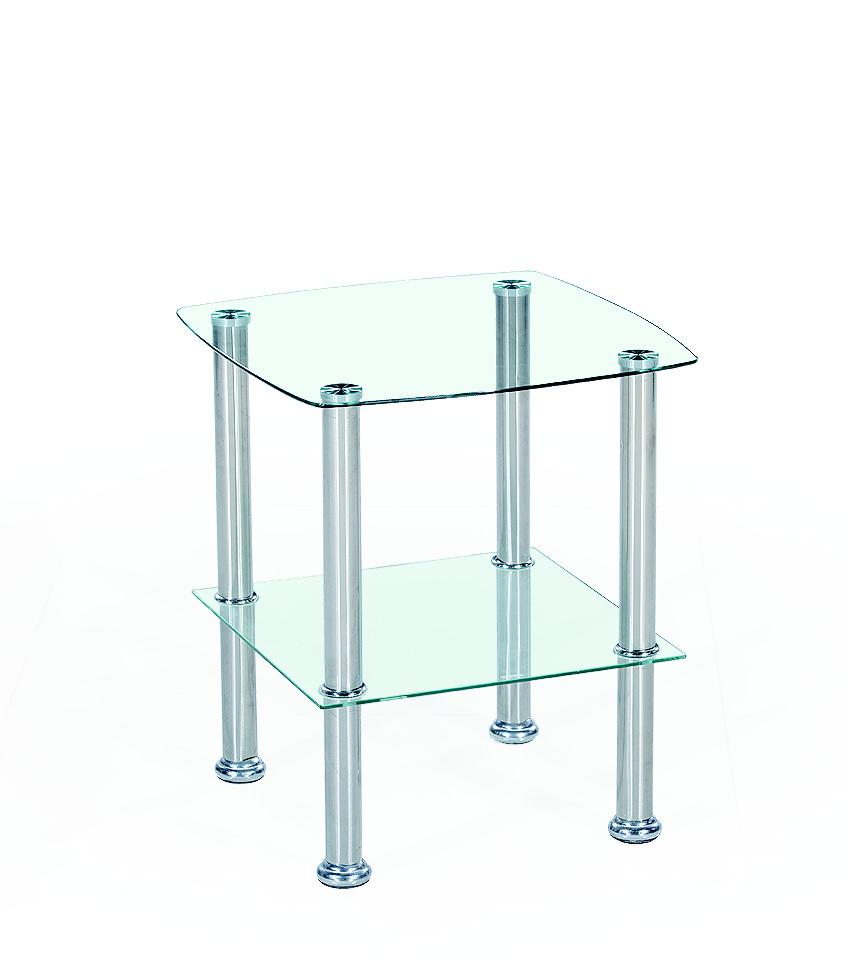 Konferenčný stolík Canaria (priesvitné sklo)