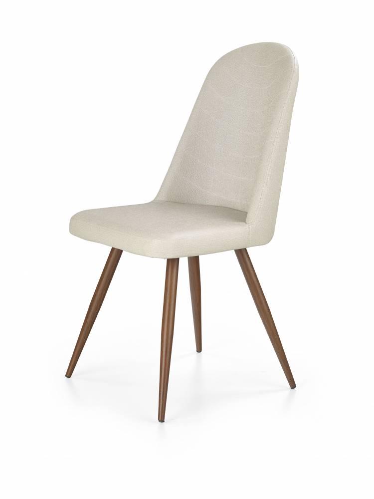 Jedálenská stolička K214 (tmavokrémová + čerešňa antická III)