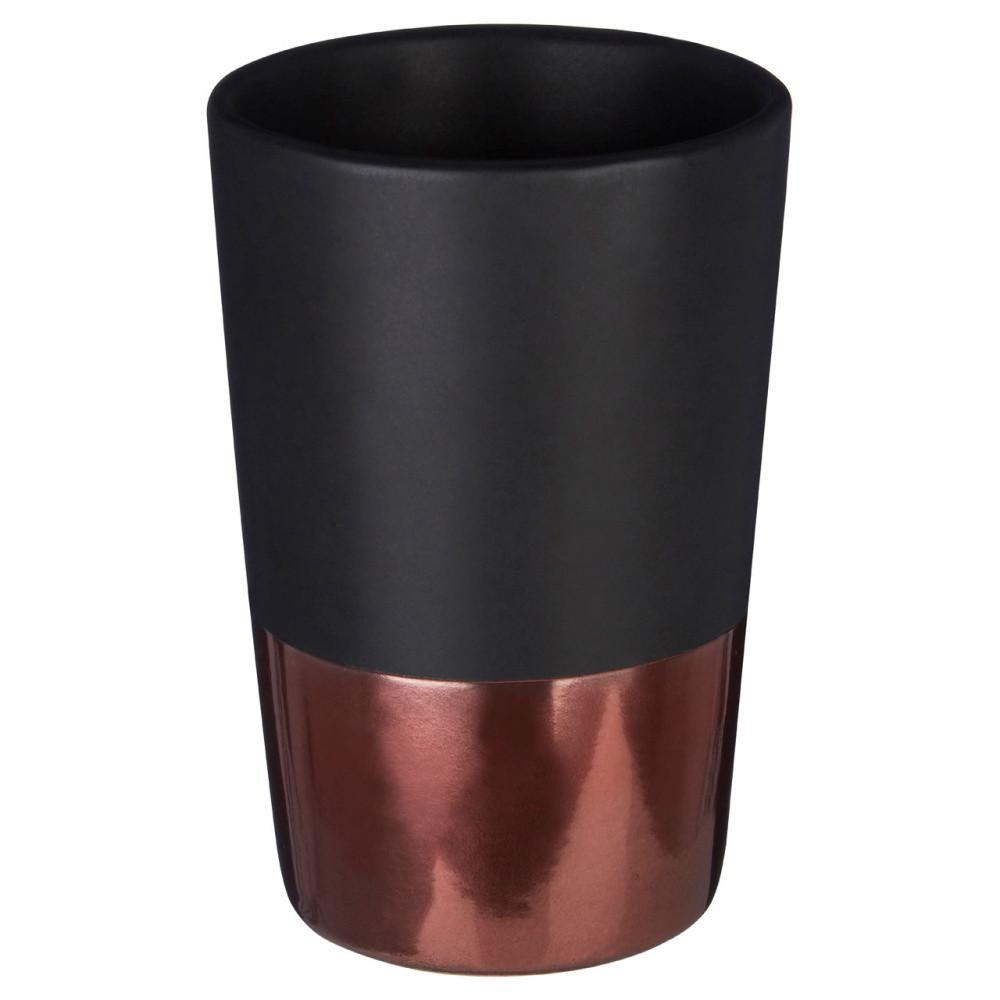 Čierny pohárik Premier Housewares Alpha