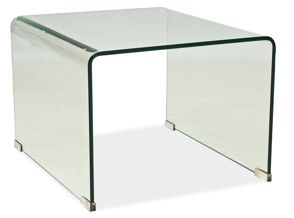 Konferenčný stolík Priam B biely