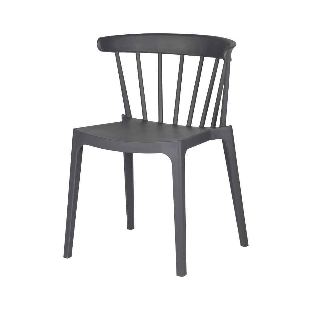 Sivá stolička DeEekhoorn Bliss