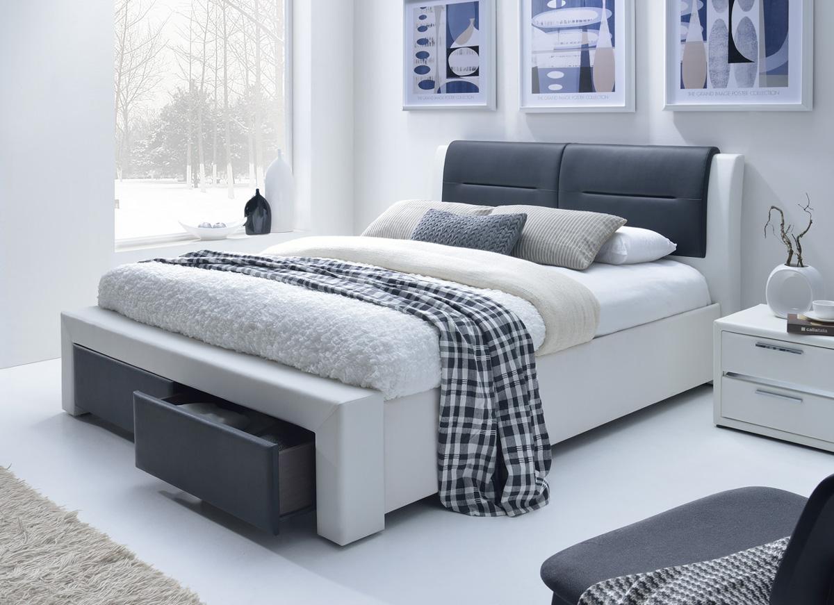 Čalúnená posteľ ITALIA II 180 s UP