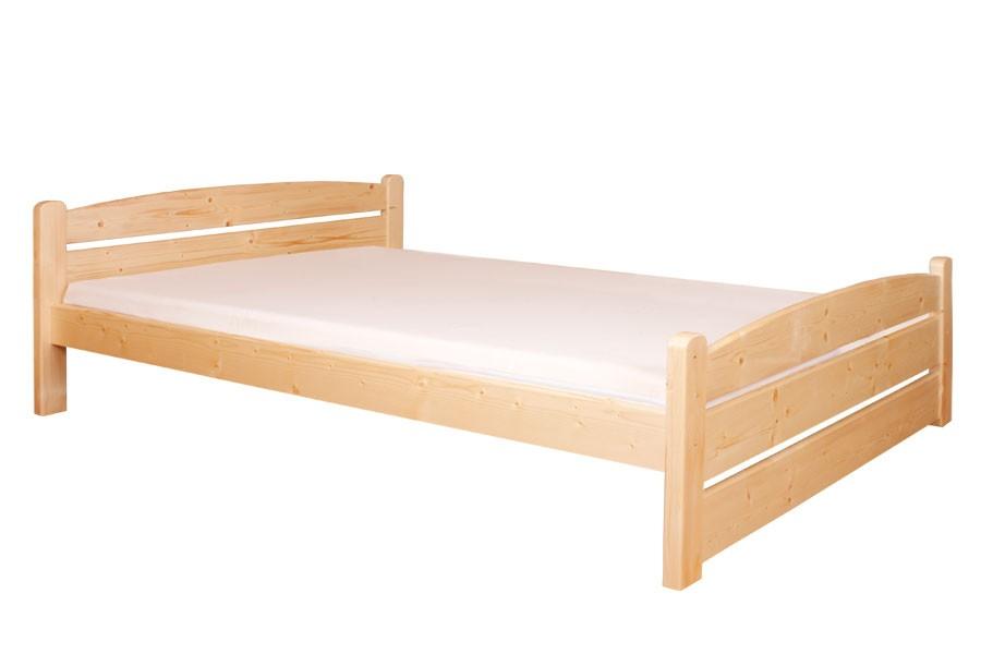 Bradop Manželská posteľ 160 x 200, masív smrek B458