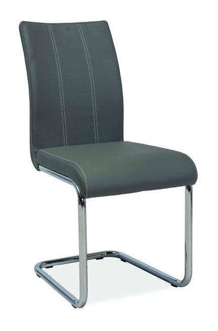 Jedálenská stolička HK-811, šedá