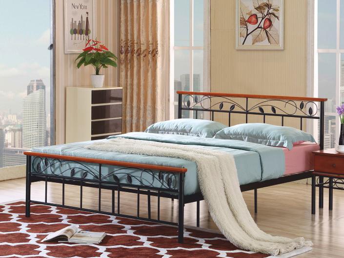 Manželská posteľ 160 cm Morena (s roštom)