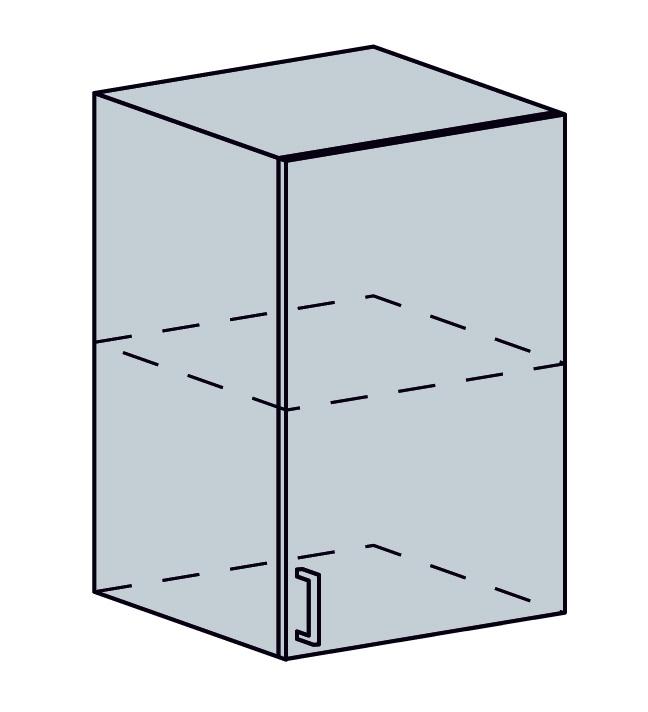 PROVENSAL horná 1-dverová skrinka 40H šedá
