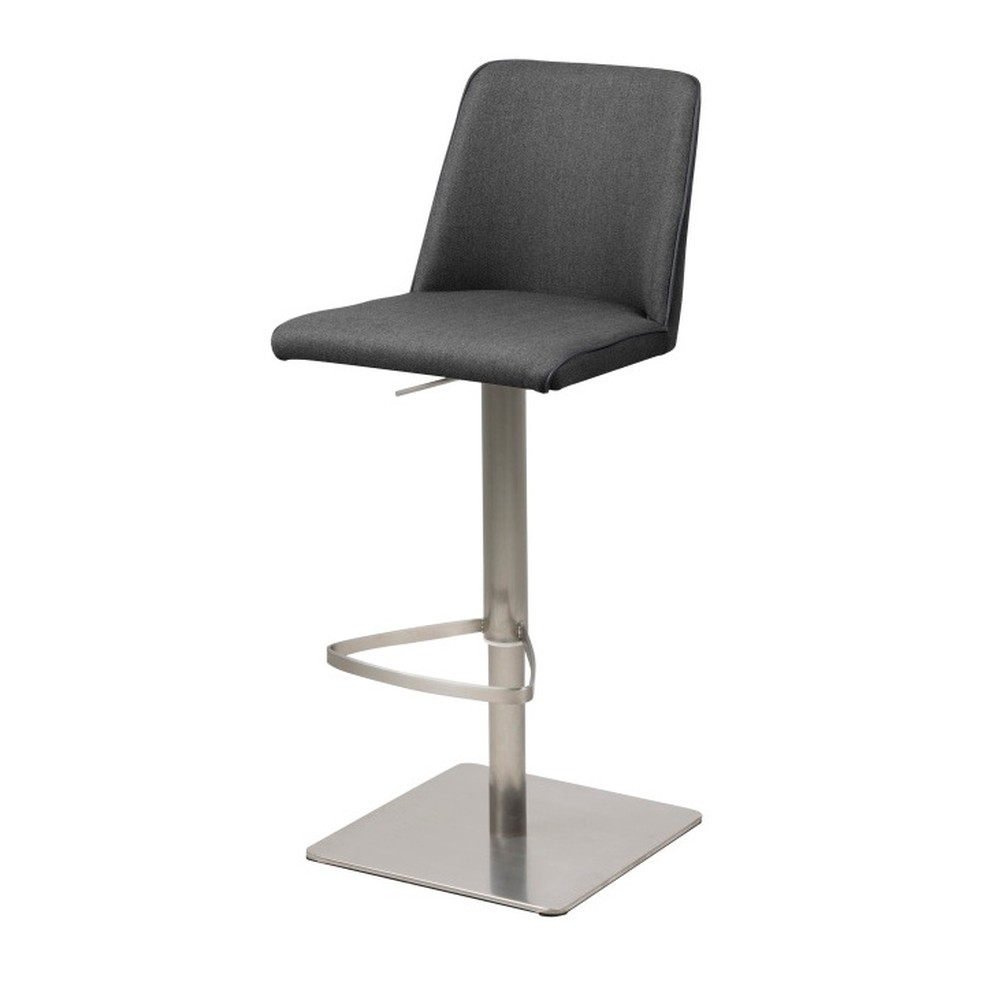 Tmavosivá barová stolička Actona Avanja