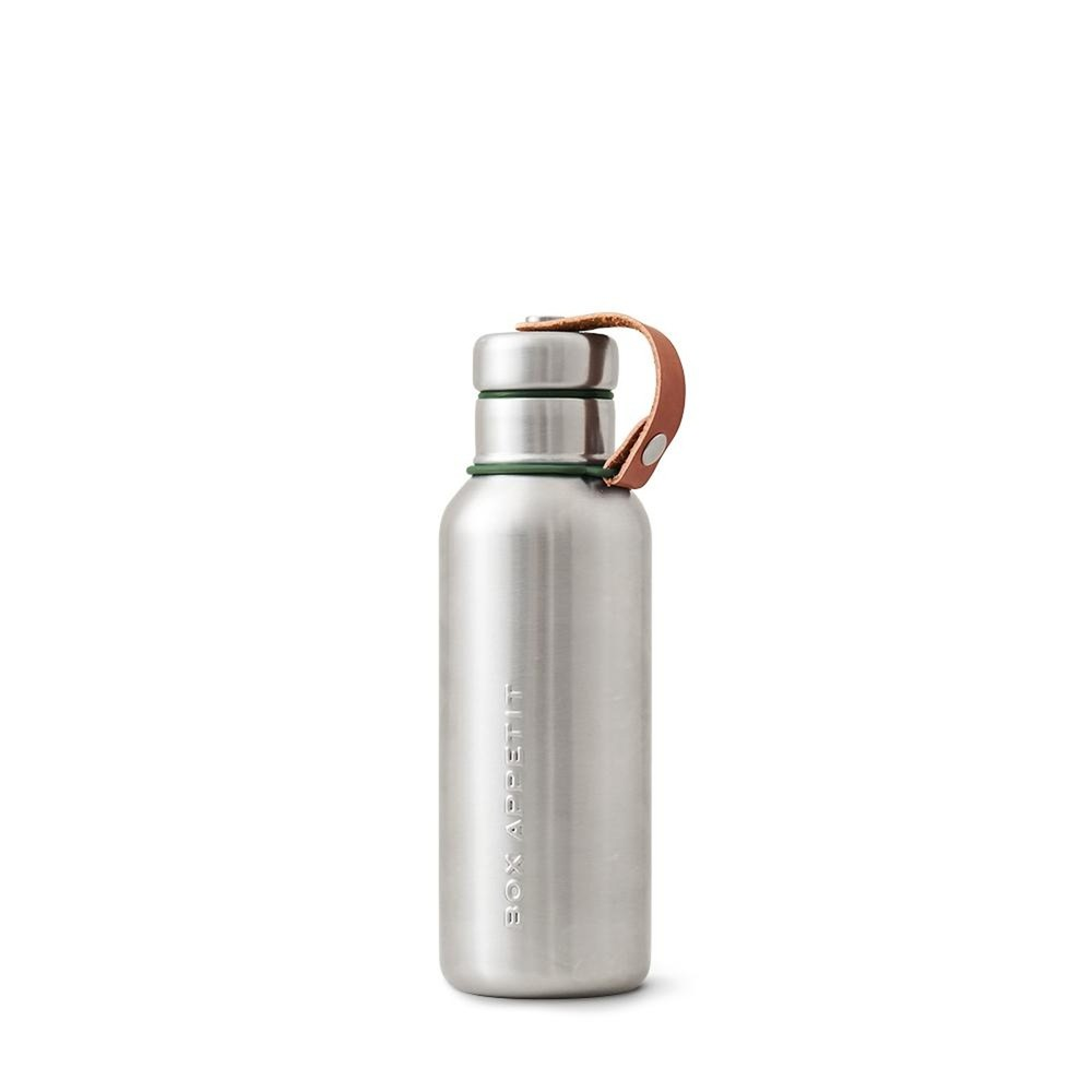 Olivovozelená dvojstenná antikoro termofľaša Black+Blum Insulated Vacuum Bottle, 500ml
