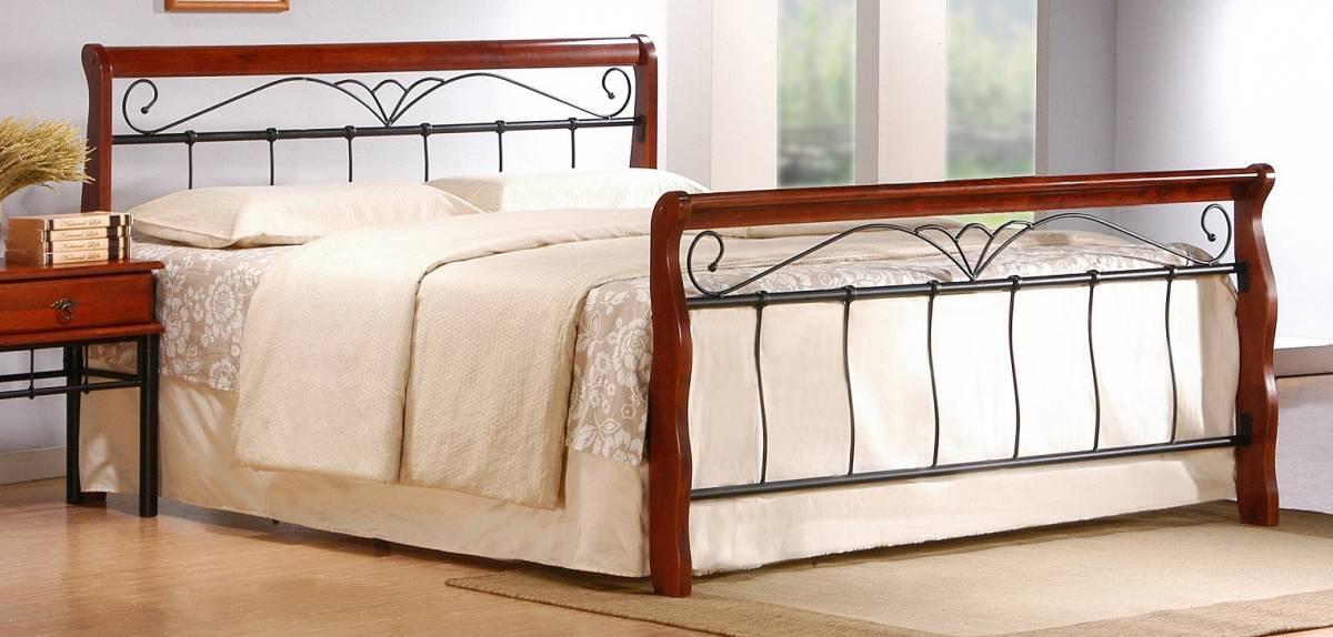 Manželská posteľ 180 cm Veronica 180 (s roštom)