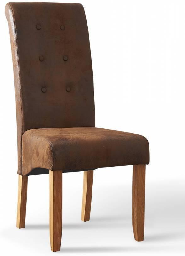 Jedálenská stolička PARADE - hnedá